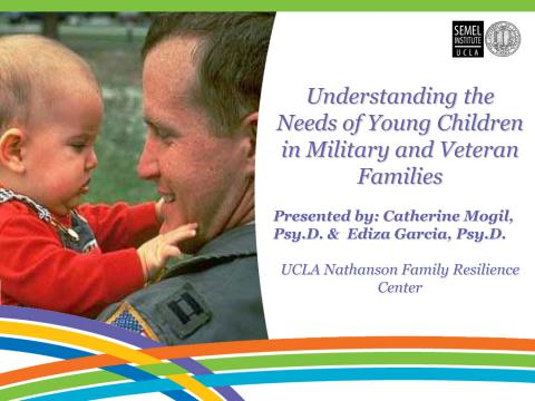 Understanding the Needs of Young Children in Military and Veteran Families Image